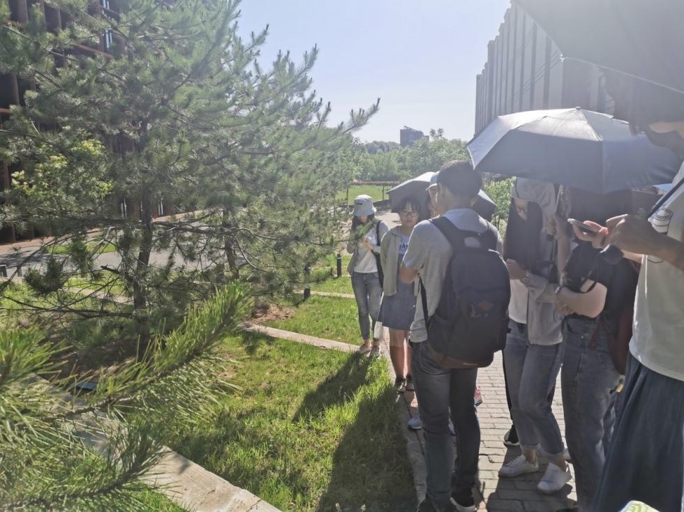 """生命科学学院举办""""孟夏博物行""""之植物认知活动"""